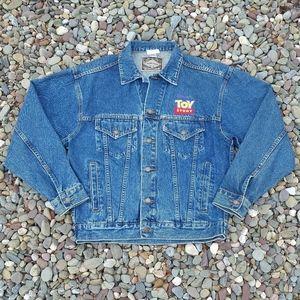 Vintage 1995 Disney Toy Story Denim Jacket - Sz: S